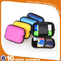 Custom packaging EVA clear zipper outdoor multipurpose storage box for toilet articles