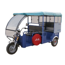 2015 H Power Blue Battery Operated Electric Tricycle For Passenger