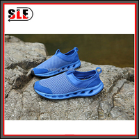 The new summer 2015 men's leather shoes waterproof sports network hollow breathable mesh shoes tide men's casual shoes