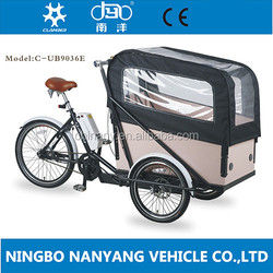 2015 central motor electric tricycle for cargo