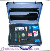 aluminum frame ABS+PU travel suitcase,aluminum laptop briefcase for business