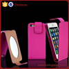2015 flip up cell/mobile phone vertical case for apple iphone 5c/s/g cover lady