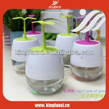 Personalized air humidifier mini green leave decorative humidifier aroma