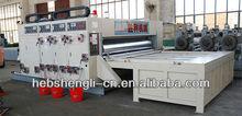 YFQ chain feeder three color printer slotter die cutter machine 1370X2200