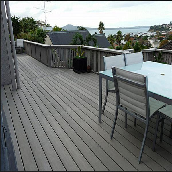 Wood plastic composite decking outdoor waterproof and for Outdoor decking boards