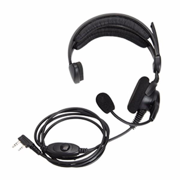 Quality assurance microphone earphone walkie talkie noise cancelling headphone