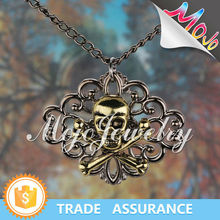 New Products on China Market Safe Zinc Alloy Antique Gold Chain Necklaces
