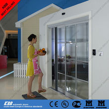 Residential automatic sliding door, security glass, aluminum frame, brushless motor