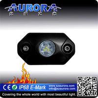 AURORA IP68 car interior 2inch mini led rock light dome light