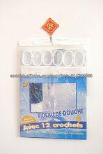PVC diseños personalizados productos domésticos Cuarto de baño cortina de la ducha