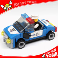 products you can import from china police car super hero figure kids games plastic in china toy building block bricks 10109