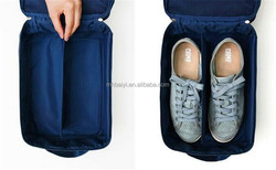 Travel shoes package,waterproof shoes bag,three double receive