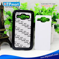 2D pc blank sublimation phone case with Aluminum sheet, waterproof case for samsung galaxy j1
