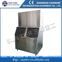 commercial used ice cube machine/commerical ice maker/cube ice evaporator and cube ice ice cube factory