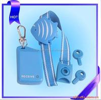 Christma gift wristband blue personal anti-lost guard alarm,personal alarm wristband