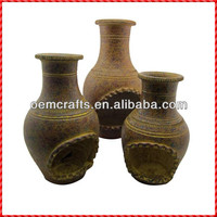 2014 Top quality handmade outdoor Wholesale Clay Chimeneas
