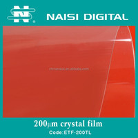 200mic PET material crystal clear laminating film roll