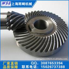 China High Quality Heat Treatment Straight 42CrMo Spiral Bevel Gear