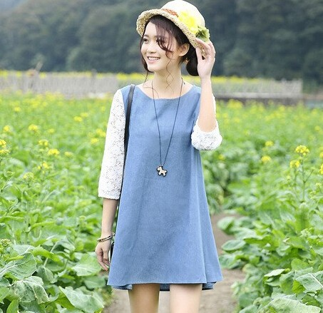 d70562h20152015ฤดูใบไม้ผลิฤดูใบไม้ร่วงสไตล์เกาหลีฤดูร้อนขายส่งชุดคาวบอยหญิงตั้งครรภ์การคลอดบุตร
