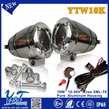 Y&T Automotive motorcycle driving lights,light high intensity 4x4 inch LED ,motorbike Parts of work light