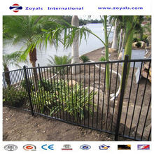 2015 good quality designs for steel fence