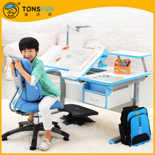 tonsfun children study table and chair adjustable children study table and chair set