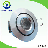 700mA 3W dimmable LED spot cabinet downlight