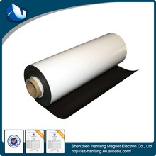 Popular rubber magnet coated colorful sheet