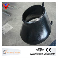 ASTM A234 WPB Butt Welded Ecc Reducer