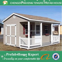 Fireproof prefab small wooden house design