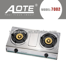 2015 CE portable stainless steel gas stove blue flame gas stove gas cooker