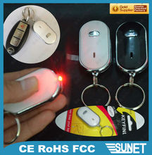 Promotional product anti-lost whistle key finder factory
