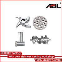 Stainless invesment casting universal meat grinder parts