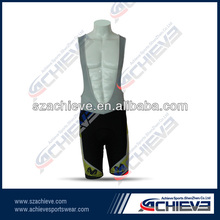 Dye Sublimation Specialized Cycling Bib Short with Custom Style 2012