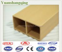 decorative natural wood plastic composite deck/WPC Timber logs