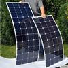 sunpower solar panel 75w small watt flexible solar panel on roof