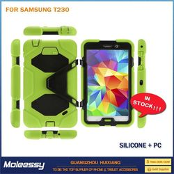Cool and greative 7.9 inch case cover for tablet pc with stand for samsung t230
