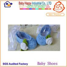 Moq 60 old navy azul zapatos del ganchillo del bebé