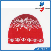 polar fleece knit beanie, custom made beanie