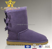 high quality Warmly soft cheap women's snow boots