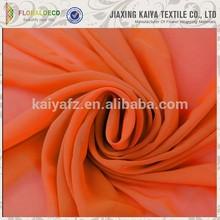 Colorful pretty soft polyester cheap chiffon fabric composition