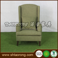 Warrantied high back green fabric pictures of wooden sofa furniture