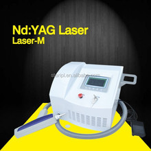 multiple function nd yag laser/q switched nd yag large spot size