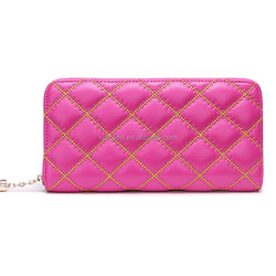 Fashion Cow Leather Quilting Tassel Wallet for Women and lady (BGLN2011)