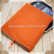 Soft flocking bag for IPAD