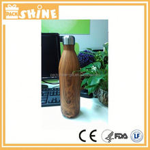 2 liter stainless steel water bottle in cola can shape / small mouth sports water bottle