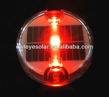 good quality solar blink led round cat eys for road safety, flashing cat eye