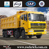 China Manufacture New Design Diesel 375HP Engine 42 Ton 8x4 Dump Truck For Sale