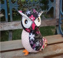 Most selling owls stuffed toys cute animal owl plush toys