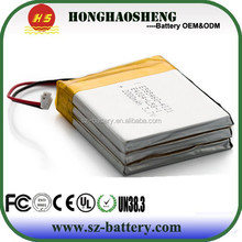 hot sale best price 12v rechargeable lithium polymer battery